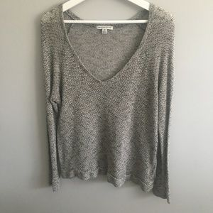 American Eagle Loose Knit V-Neck Sweater #189
